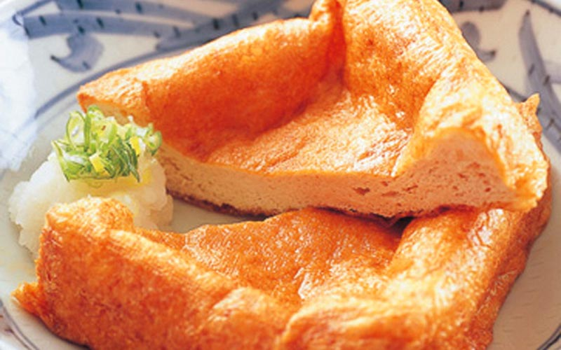 Abura-Age (Fried Tofu)